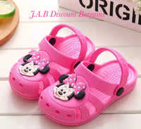 Minnie/Mickey croc clog style children's sandle/shoe - JAB Discount Bargains