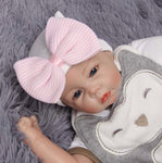Adorable Baby bow beanie hat - JAB Discount Bargains