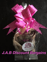 Silver padlock jewellery bagged and bow gift set - JAB Discount Bargains