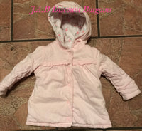 George baby girl reversible jacket 3-6 months