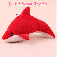 Dolphin  Hang Decoration Strap Toy Keychain - JAB Discount Bargains