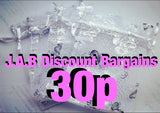 White silver jewellery gift pouch - JAB Discount Bargains