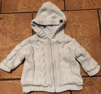 Baby knitted hooded cardigan/jacket 0-3 months - JAB Discount Bargains