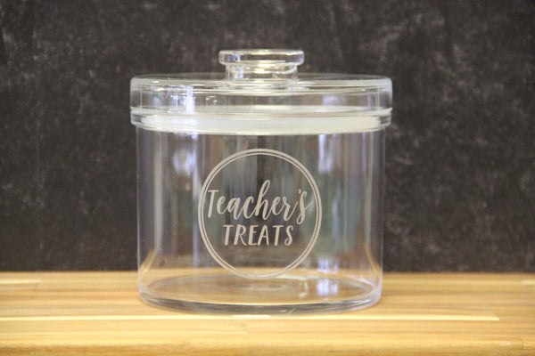 Teacher Treat Jar