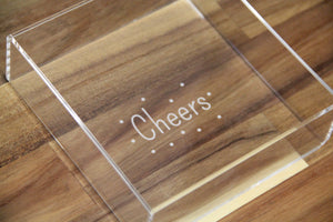 Acrylic Tray - Small Square
