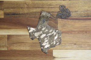 Texas Shaped Rodeo Badge Holder