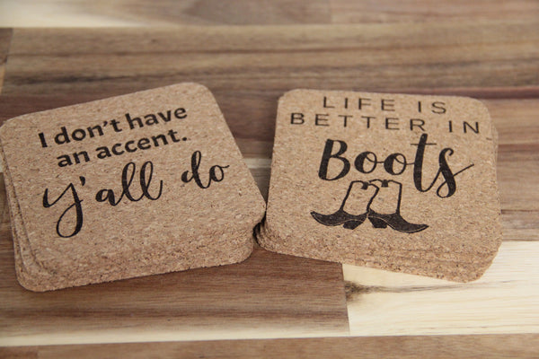 Coasters - Cork (Set of 4)
