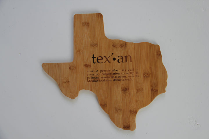Slogan Bread Board - Texas