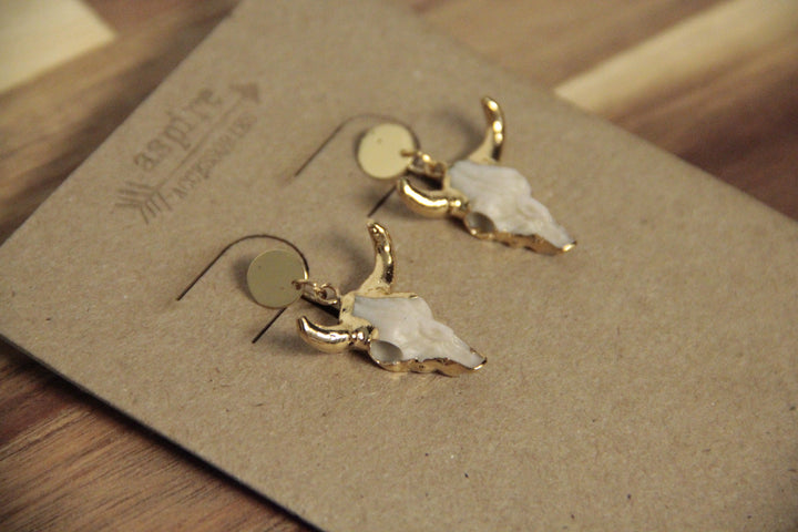 Longhorn Earrings
