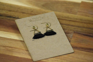 Mini Fringe Earrings