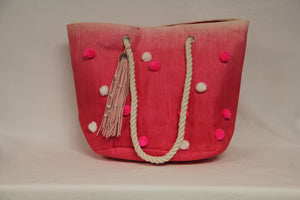 Pom Pom Shell Purse