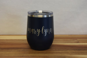 Insulated Wine Tumbler - 12oz