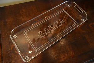 Acrylic Serving Tray