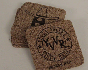 Coaster - Custom Cork (Set of 4)