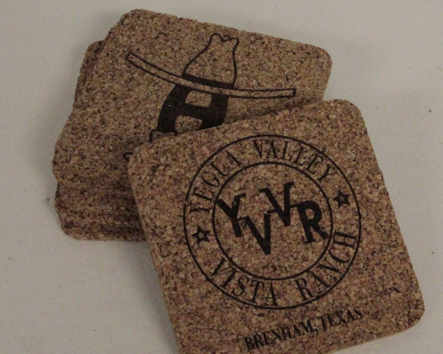 Custom Cork Coaster (Set of 4)