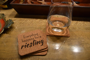 Coasters - Wine Puns (Set of 4)