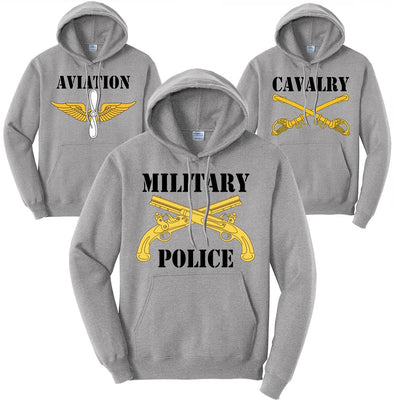 Army Branch Hoodies