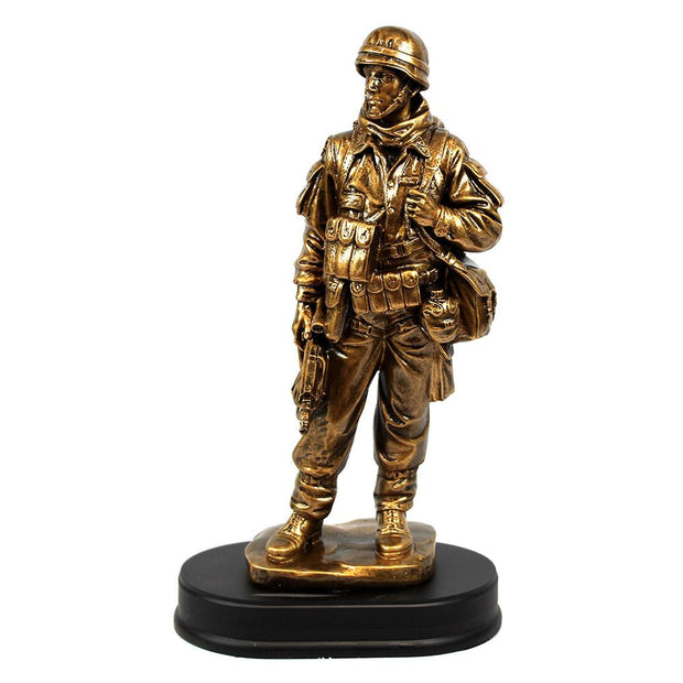Soldier Statue, Standing with Rifle Down