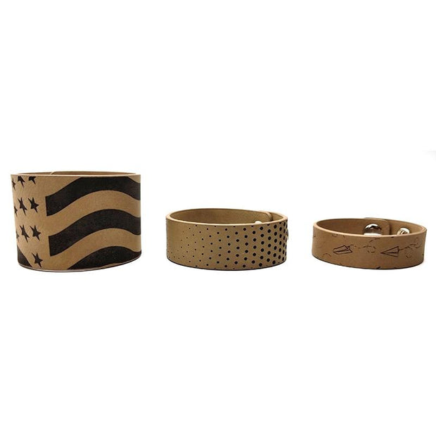 light brown bracelets