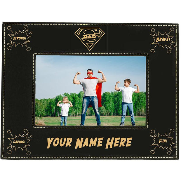 Super Dad Personalized Frame