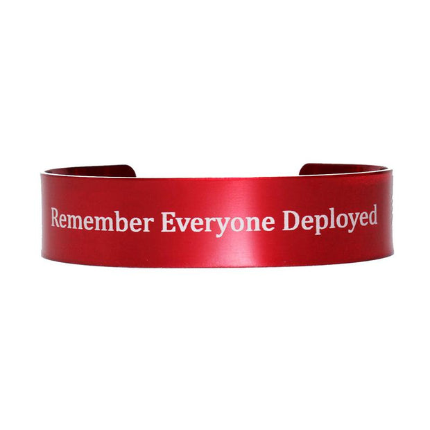 remember everyone deployed red bracelet