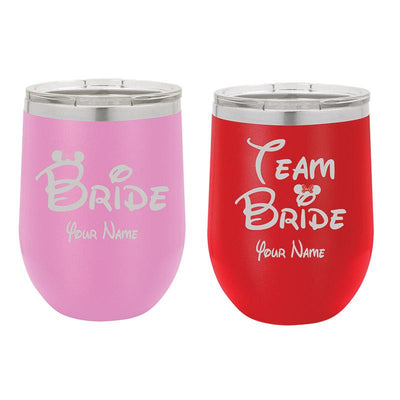 Bridal Party Tumblers 12 oz
