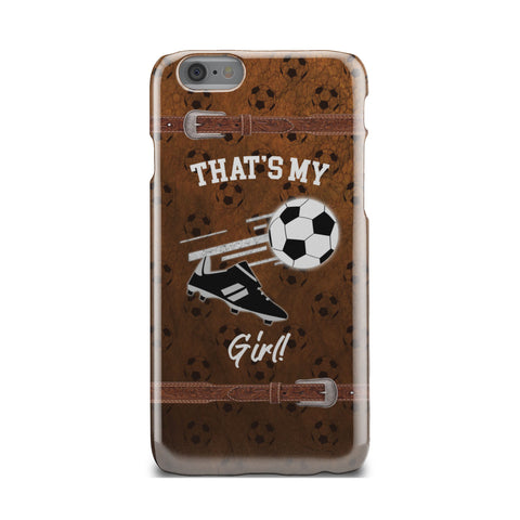 Soccer Girl Hard Phone Case