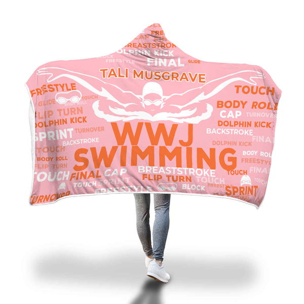 Tali Swimming Hooded Blanket