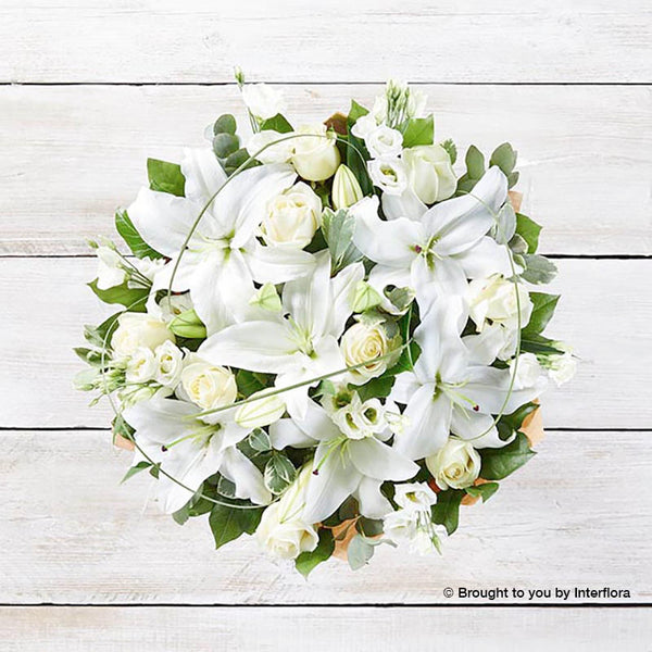 Wonderfully White Sympathy Hand-tied