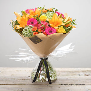 Flaming Fiesta Hand-tied