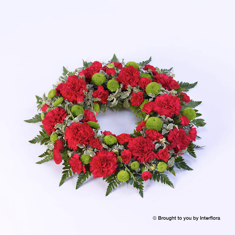 Classic Wreath (Red & Green)