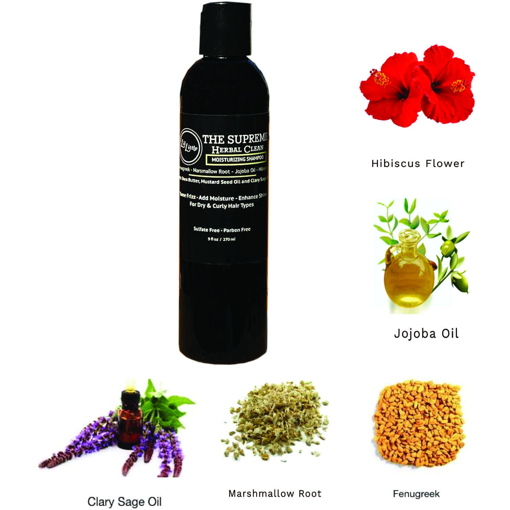 Supreme Herbal Clean Moisturizing Shampoo