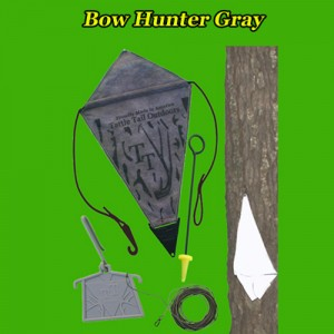 Bow Hunter Gray Deer Signaling Decoy
