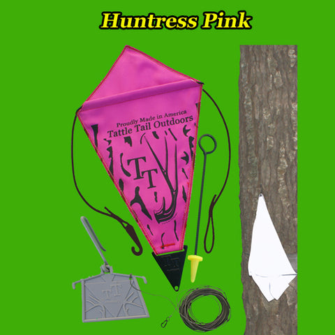 Huntress Pink Deer Signaling Decoy