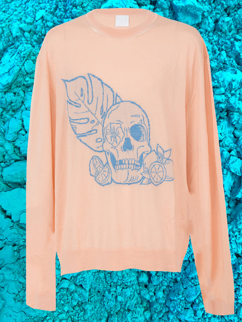 PARADISE PULLOVER IN ROSE QUARTZ
