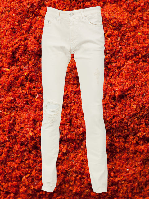 JAGGER JEAN IN WINTER WHITE