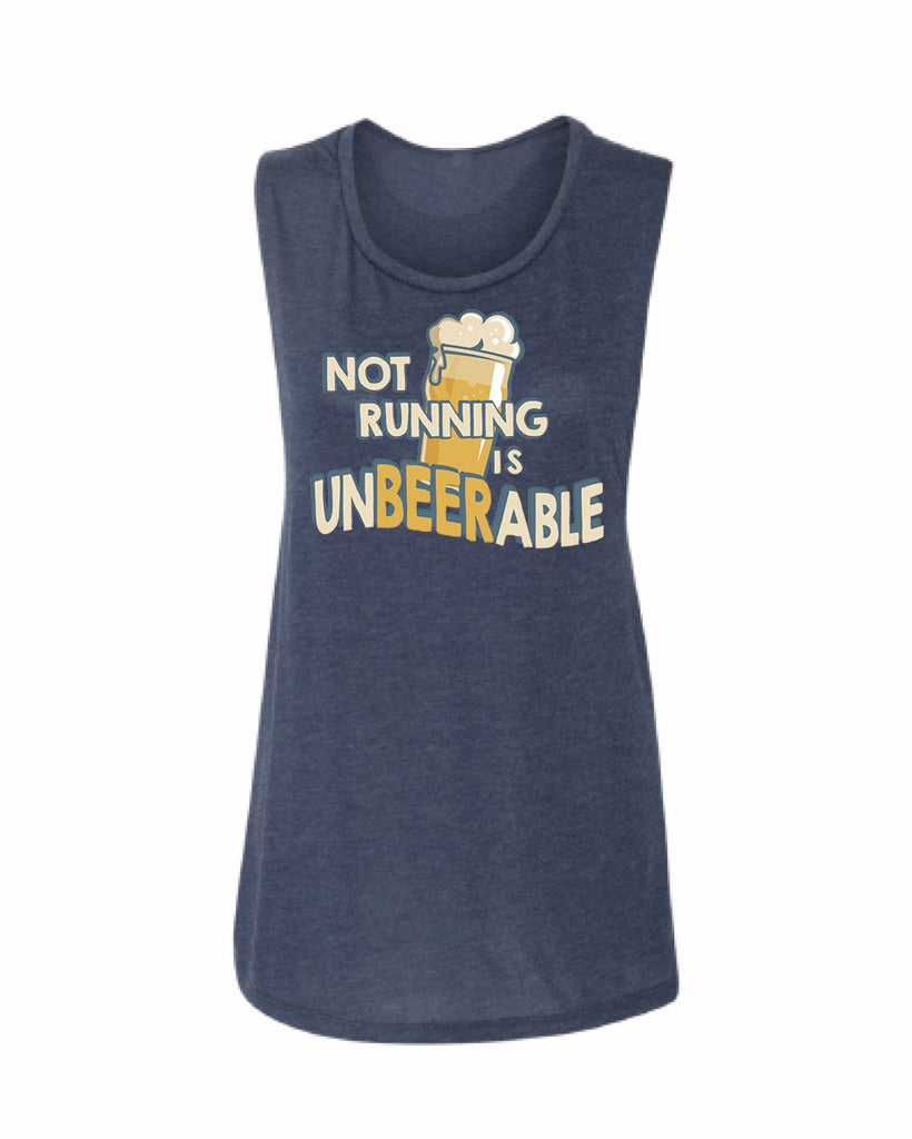 NOT Running is unBEERable Scoop Tank