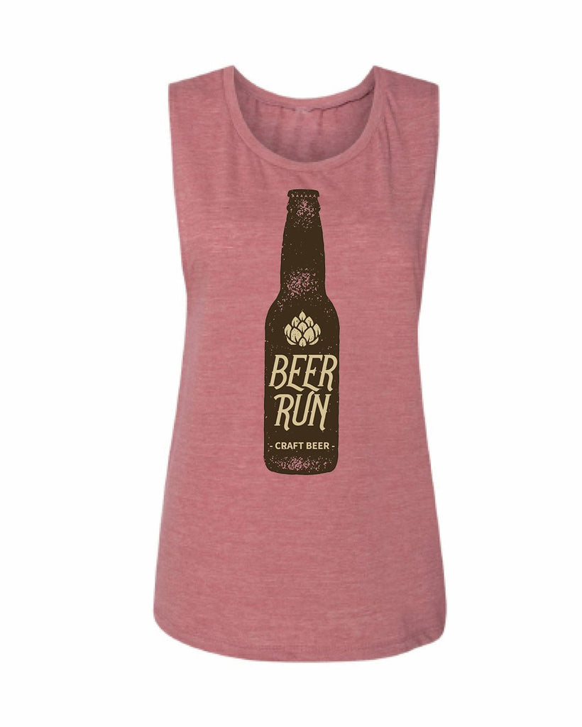 'CRAFT' BEER RUN Flowy Scoop Tank