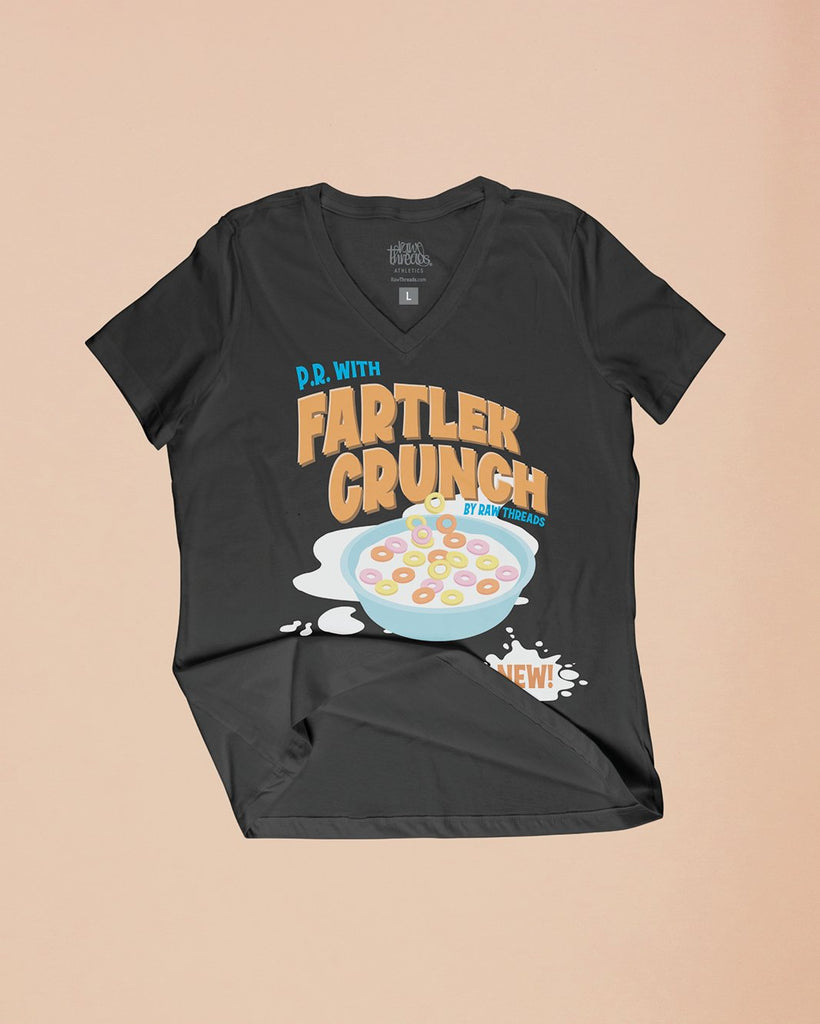 P.R. with Fartlek Crunch Relaxed V-Neck