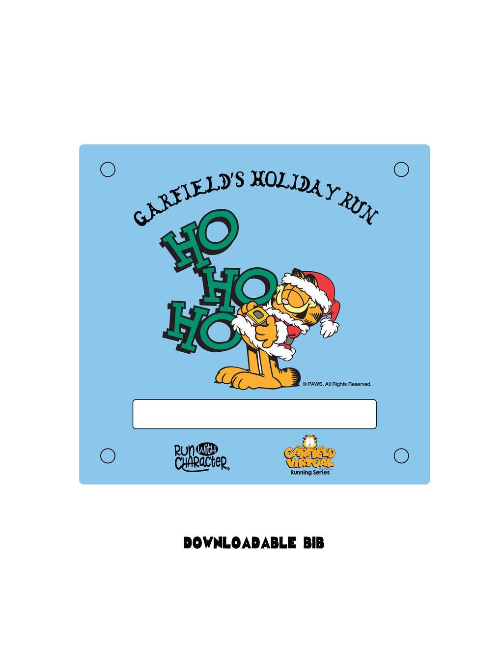 2018 Garfield's Holiday Virtual Run