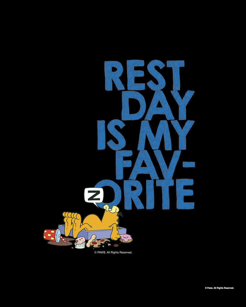 Garfield's Rest Day is My Favorite