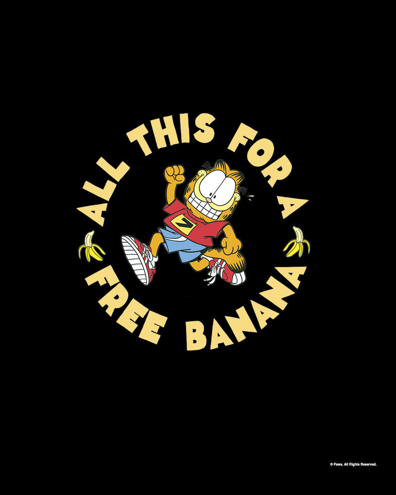 Garfield's Will Run for Bananas