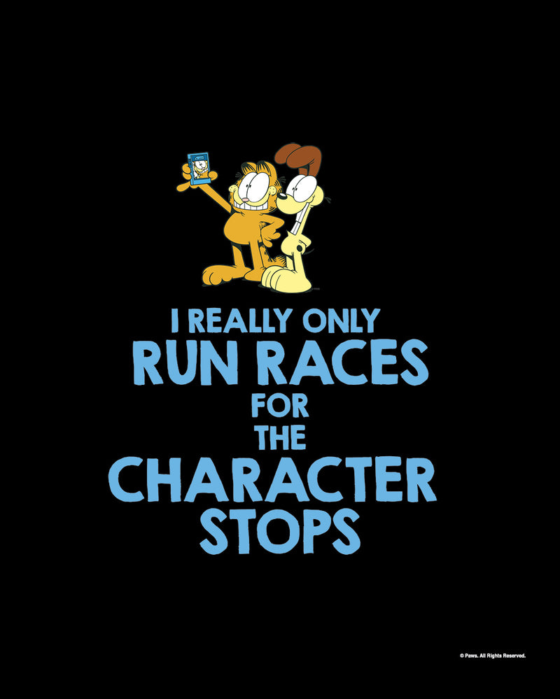 Garfield's Will Run for Characters