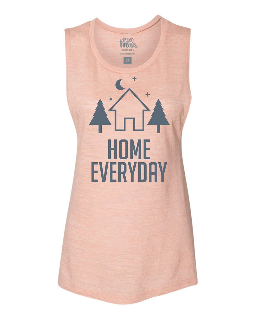 Camping at Home Everyday Flowy Scoop Tank