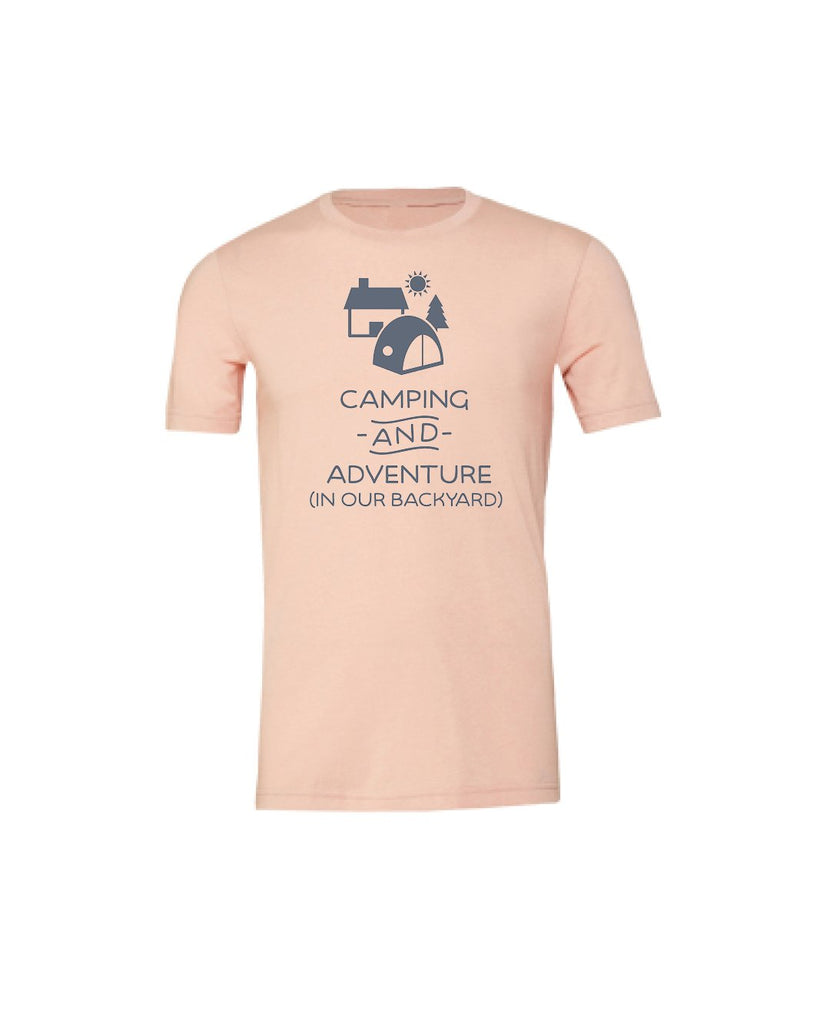 Camping and Adventure (in our backyard) Youth Short Sleeve