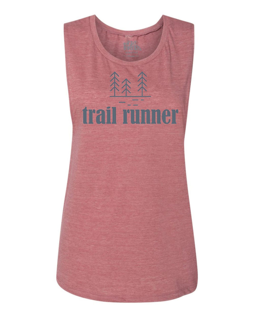 Trail Runner Flowy Scoop Tank