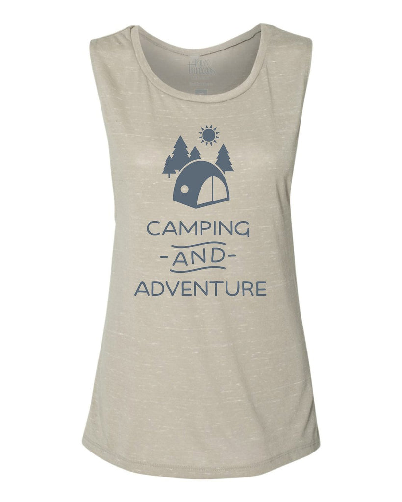 Camping and Adventure Flowy Scoop Tank