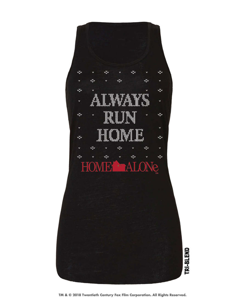 Always Run Home Tri-Blend Racer by Raw Threads