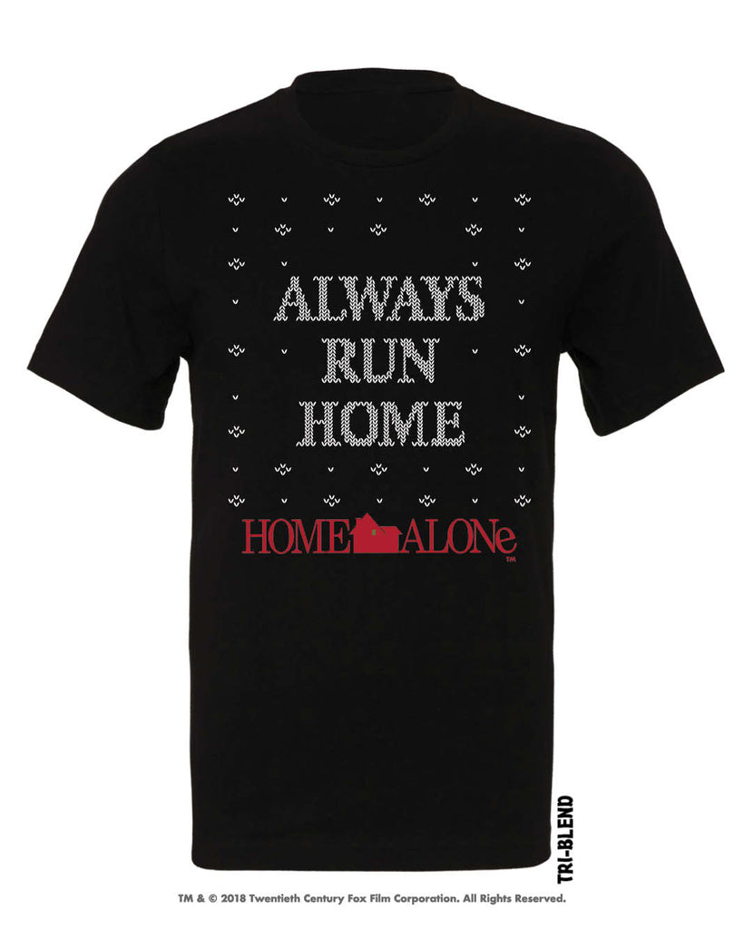 Always Run Home Tri-Blend Crew by Raw Threads