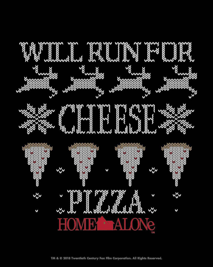 Will Run for Cheese Pizza Athletic Top by Raw Threads